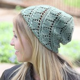 Valley Yarns 532 Birch Leaf Hat