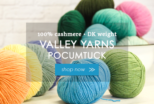 Valley Yarns Pocumtuck - 100% Cashmere