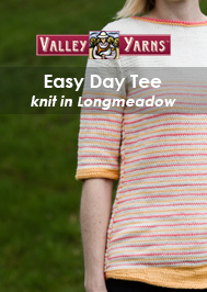 Valley Yarns Easy Day Tee