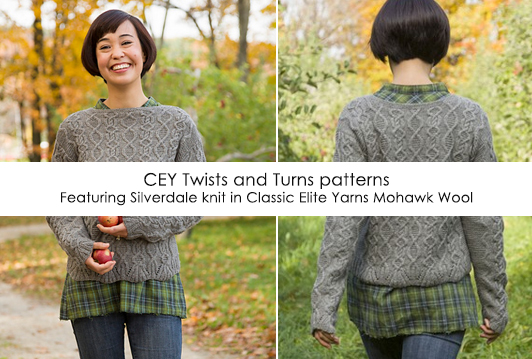 CEY Twists and Turns patterns