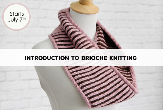 Introduction to Brioche Knitting
