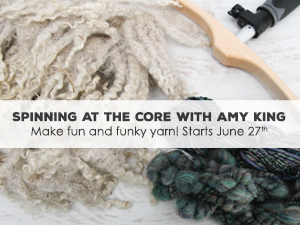 Spinning at the Core with Amy King