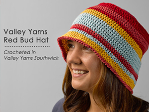 Valley Yarns Red But Hat