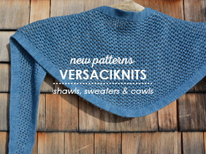 New Knitting Patterns from VERSACIKNITS