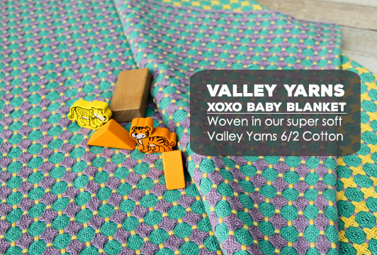 Valley Yarns #87 XOXO Baby Blanket PDF