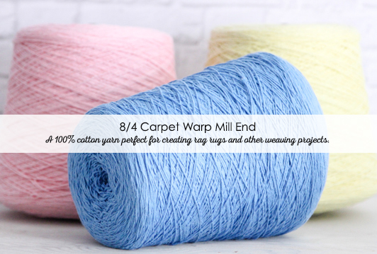 8/4 Carpet Warp Mill End