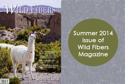 Summer 2014 Issue of Wild Fibers Magazine