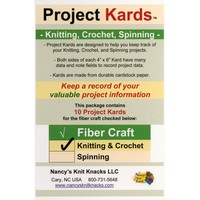 Project Kards Knitting & Crochet