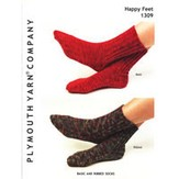 Plymouth Yarn 1309 Basic & Ribbed Socks
