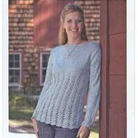 82412 Empire Lace Pullover