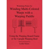 Winding Multi-colored Warps with a Warping Paddle