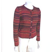 1428 Recycled Stripes Cardie