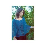 Knitting Pure & Simple Easy Lace Poncho