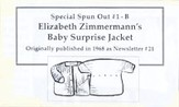 Spun Out # 1-B Baby Surprise Jacket