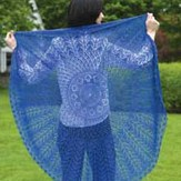 Valley Yarns 225 Firmaments Lace Shawl (Free)