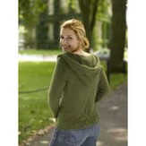Valley Yarns 185 Olive Branch Yoga Hoodie