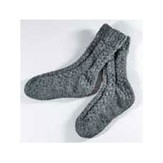Valley Yarns 118 Cozy Cable Socks (Free)