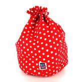 della Q 40th Anniversary Large Eden Drawstring Bag
