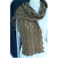A64 Beaded Lace Scarf II