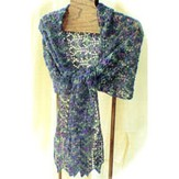 HeartStrings H35 Scotch Thistle Lace Stole