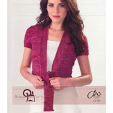 Araucania Fitted Short Cardigan (Huasco DK)