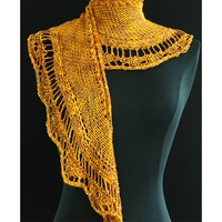 E207 Golden Lace Shawl PDF