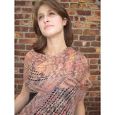 Artyarns F126 Multidirectional Lace Ridge Shawl (Free)