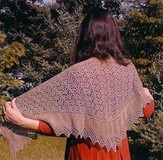 Bad Cat Designs Victorian Driftwood Shawl