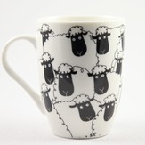 Wacky Woollies Black Sheep Mug
