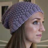 Debbie Bliss Blackberry Beanie (Free)
