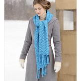 Blue Sky Alpacas Baltic Wrap