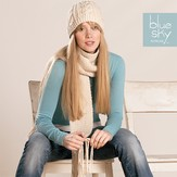 Blue Sky Alpacas Worsted Scarf & Hat