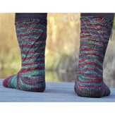 Cat Bordhi Sweet Coriolis Socks PDF