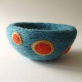 "Purl & Loop 4"" Needle-Felted Decorative Bowl Kit"