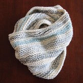 Blue Sky Alpacas Caledonia Cowl Bone Kit