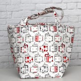 Erin.Lane Self Standing Bucket Tote