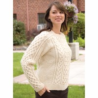 A144 Eco Wool Saddle Shoulder Aran (Free)