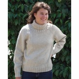 Cascade Yarns B177 Eco Wool Weekend Sweater (Free)