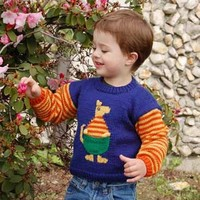 CYPW185 Children's Kangaroo Sweater (Free)
