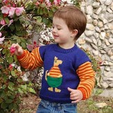 Cascade Yarns CYPW185 Children's Kangaroo Sweater (Free)