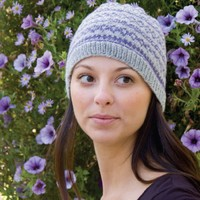 DK182 Simple Fair Isle Hat (Free)