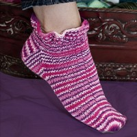 DK194 Fixation Ruffled Up Socks (Free)