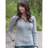 Cascade Yarns DK230 Graceful Cabled Tunic (Free)