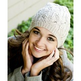 Cascade Yarns DK335 Longwood Sport Lace and Cable Hat (Free)