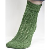 Cascade Yarns FW115 Heritage Green Textured Socks (Free)