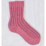 Cascade Yarns Heritage Pink and Lacy Sock (Free)