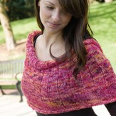 Cascade Yarns FW121 Heritage Paints Euro Cowl (Free)