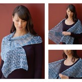 Cascade Yarns FW163 Eyelet Diamond Shawl (Free)