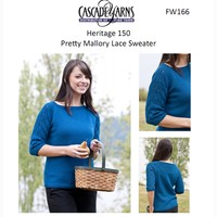 Pretty Mallory Lace Sweater (Free)