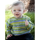 Cascade Yarns FW197 Prints for Baby Pullover (Free)